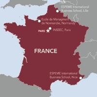 France Map sm