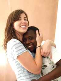 Janine Roth in Haiti