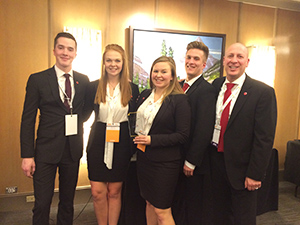 Enactus Capital One Team March 2016