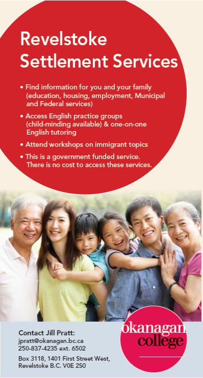 Revelstoke Settlement Services pic 2018