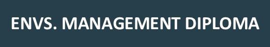 ENVS Management Diploma course planning sheet